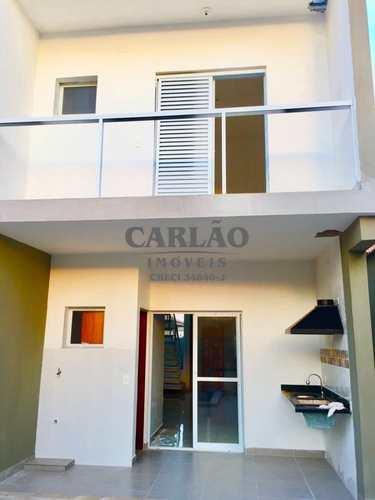 Sobrado de Condomínio, código 352173 em Itanhaém, bairro Campos Elíseos
