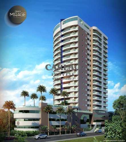 Apartamento, código 352257 em Mongaguá, bairro Jardim Aguapeu