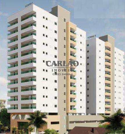Apartamento, código 352286 em Mongaguá, bairro Centro