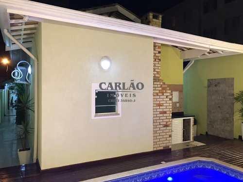 Sobrado, código 352322 em Praia Grande, bairro Caiçara