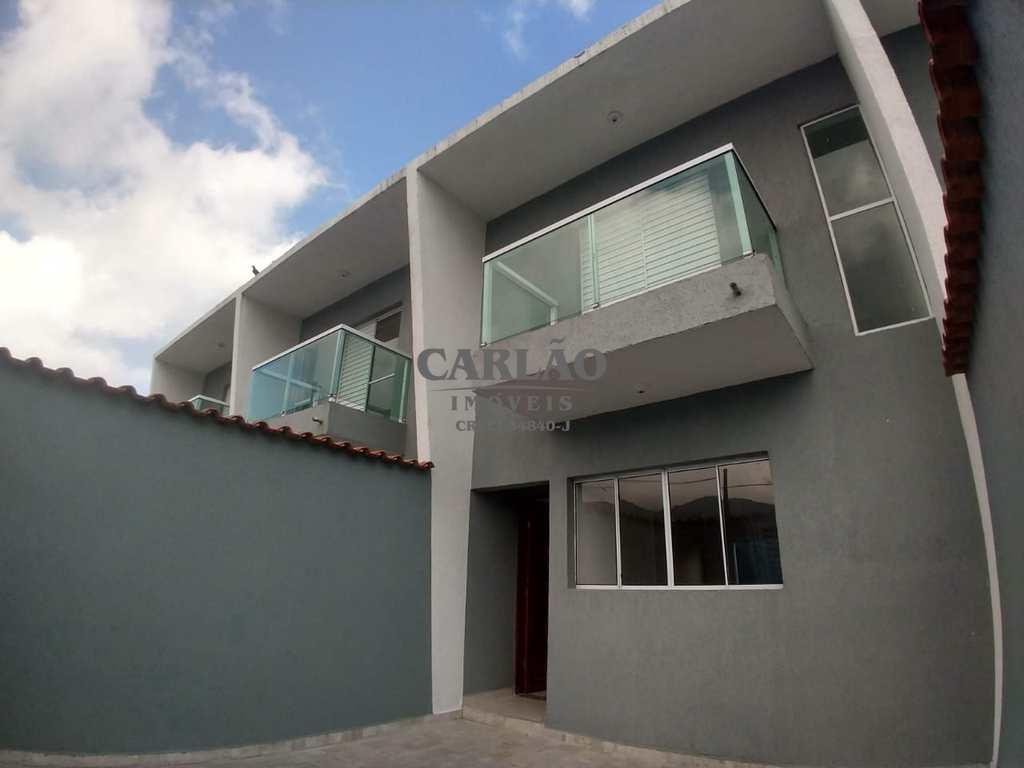 Sobrado de Condomínio em Mongaguá, no bairro Vera Cruz