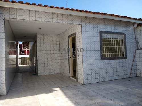 Casa, código 352420 em Mongaguá, bairro Balneário Itaóca