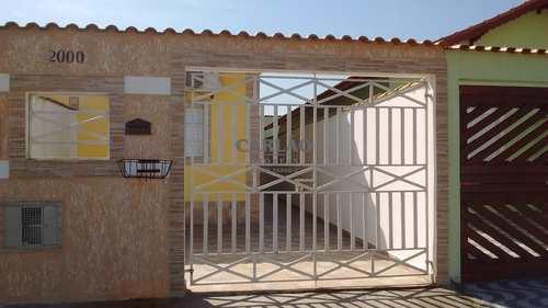 Casa, código 352450 em Mongaguá, bairro Jardim Leonor