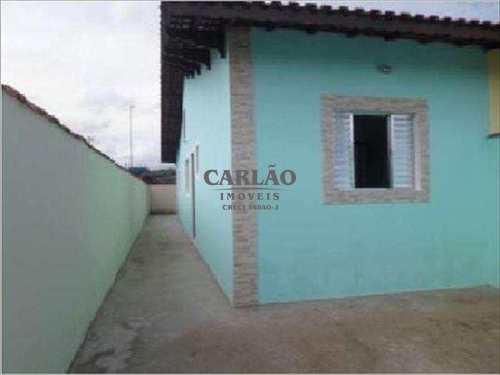 Casa, código 352554 em Mongaguá, bairro Jardim Leonor