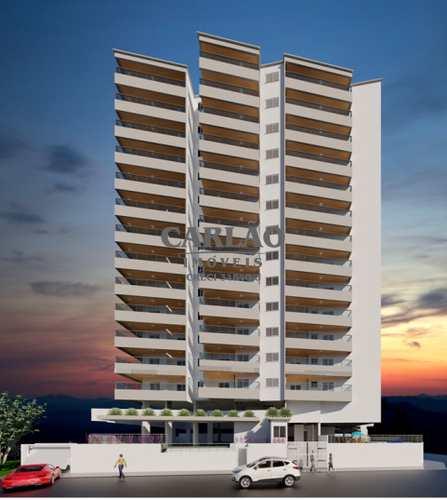 Apartamento, código 352581 em Praia Grande, bairro Guilhermina