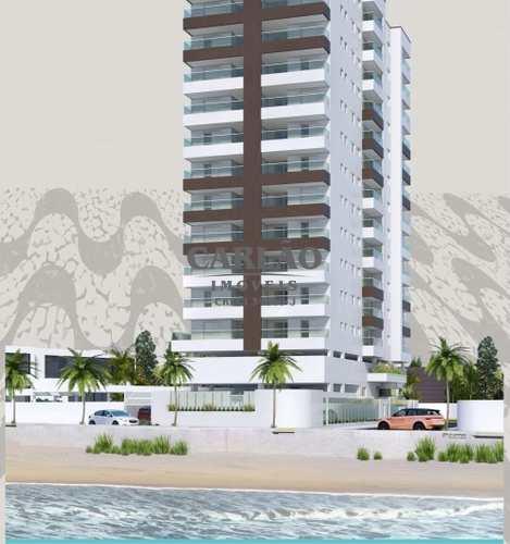 Apartamento, código 352658 em Mongaguá, bairro Vila Atlântica