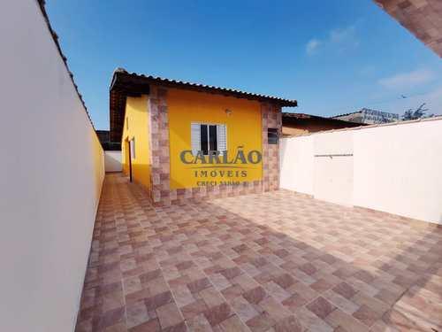 Casa, código 352692 em Mongaguá, bairro Jardim Leonor