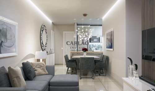 Apartamento, código 352774 em Praia Grande, bairro Guilhermina