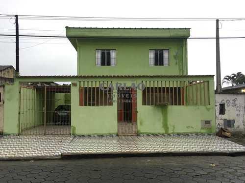 Sobrado, código 352843 em Mongaguá, bairro Jardim Aguapeu