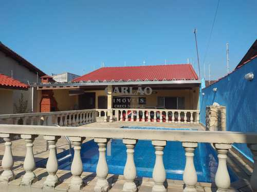 Casa, código 352960 em Itanhaém, bairro Bopiranga
