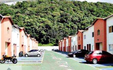 Sobrado de Condomínio em Mongaguá, no bairro Pedreira
