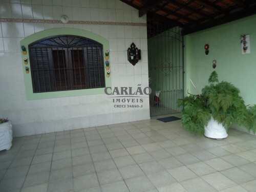 Casa, código 353277 em Praia Grande, bairro Mirim