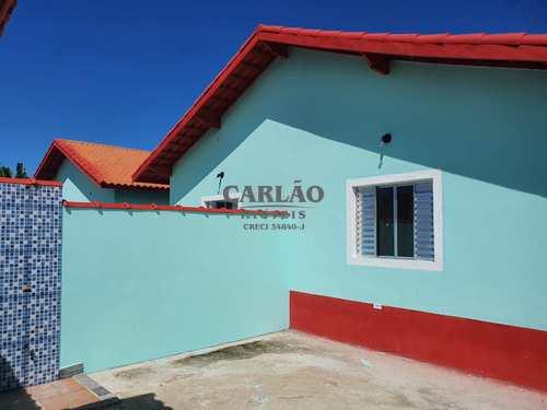 Casa, código 353351 em Mongaguá, bairro Jardim Leonor Jussara