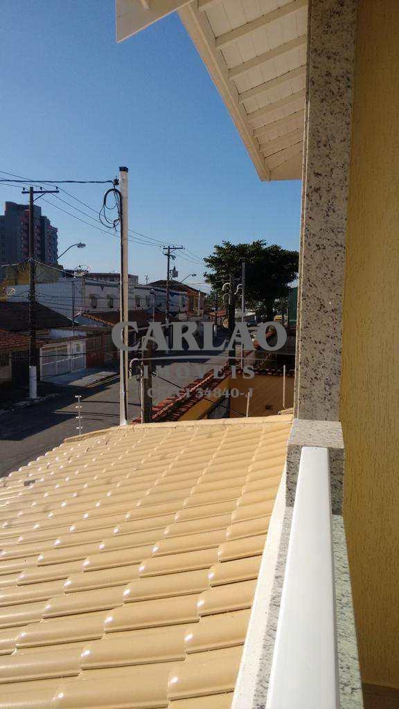 Sobrado em Praia Grande, no bairro Mirim