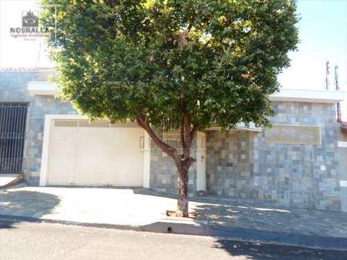 Casa, código 386300 em Jaboticabal, bairro Barreiro