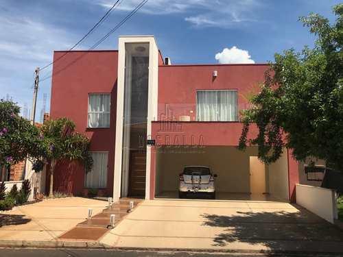 Sobrado de Condomínio, código 345200 em Jaboticabal, bairro Condomínio Parque dos Girassóis