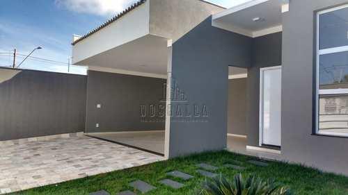 Casa, código 1722928 em Jaboticabal, bairro Jardim Monterrey