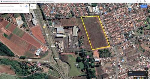 Terreno Industrial, código 1723174 em Jaboticabal, bairro X