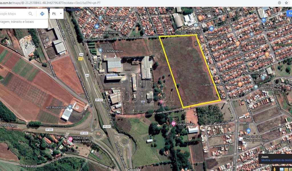 Terreno Industrial em Jaboticabal, bairro X