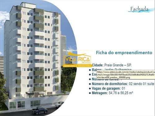 Apartamento, código 335900 em Praia Grande, bairro Guilhermina