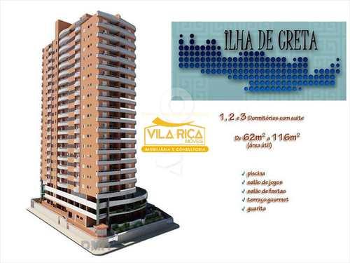 Apartamento, código 306200 em Praia Grande, bairro Canto do Forte
