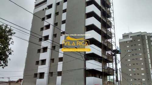 Apartamento, código 229100 em Praia Grande, bairro Mirim
