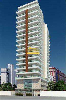 Apartamento, código 146600 em Praia Grande, bairro Guilhermina
