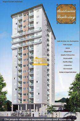 Apartamento, código 145700 em Praia Grande, bairro Caiçara