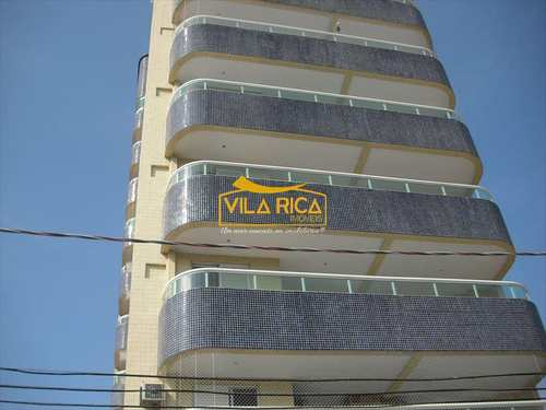 Apartamento, código 143100 em Praia Grande, bairro Guilhermina