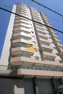Apartamento, código 125100 em Praia Grande, bairro Aviação