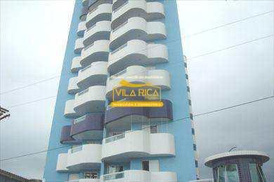 Apartamento, código 103700 em Praia Grande, bairro Maracanã