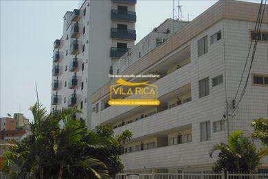 Apartamento, código 22200 em Praia Grande, bairro Guilhermina