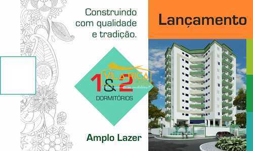 Apartamento, código 375278 em Praia Grande, bairro Guilhermina
