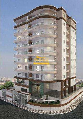 Apartamento, código 375829 em Praia Grande, bairro Maracanã