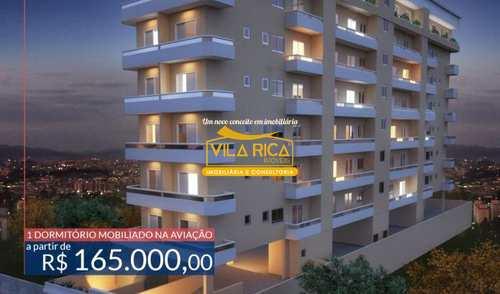 Apartamento, código 375875 em Praia Grande, bairro Aviação