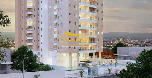 Apartamento, código 375963 em Praia Grande, bairro Guilhermina