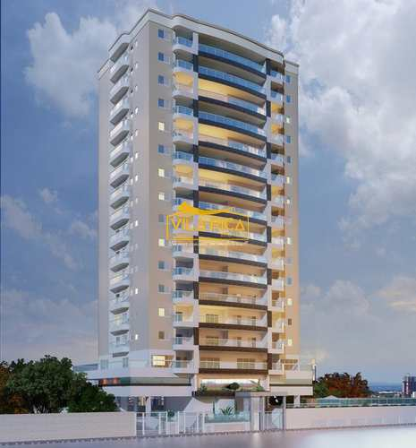 Apartamento, código 376099 em Praia Grande, bairro Guilhermina