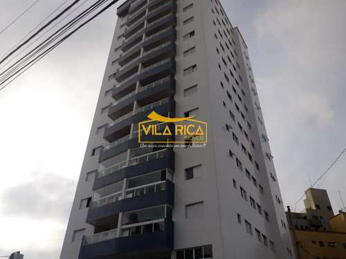 Apartamento, código 376442 em Praia Grande, bairro Tupi