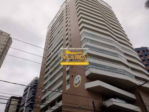 Apartamento, código 376597 em Praia Grande, bairro Aviação