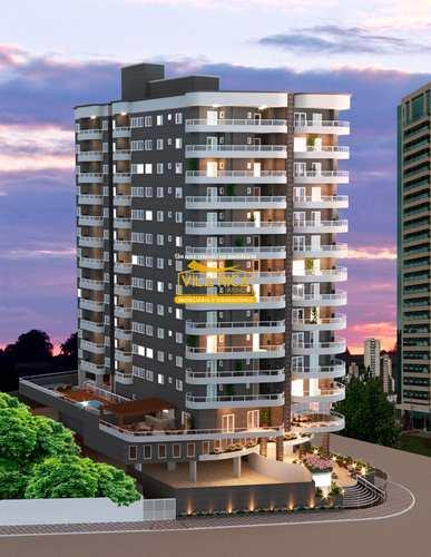 Apartamento, código 376659 em Praia Grande, bairro Caiçara
