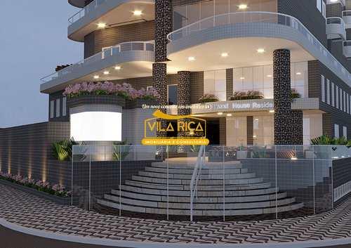 Apartamento, código 376662 em Praia Grande, bairro Caiçara