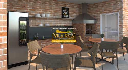 Apartamento, código 376669 em Praia Grande, bairro Aviação