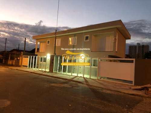 Sobrado, código 376897 em Praia Grande, bairro Guilhermina