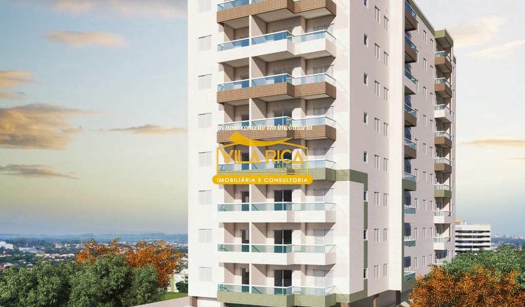 Apartamento em Praia Grande, bairro Tupiry