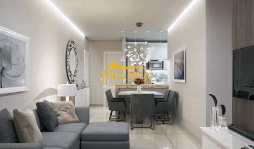 Apartamento, código 377347 em Praia Grande, bairro Guilhermina