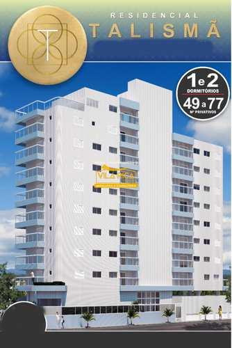 Apartamento, código 377411 em Praia Grande, bairro Guilhermina