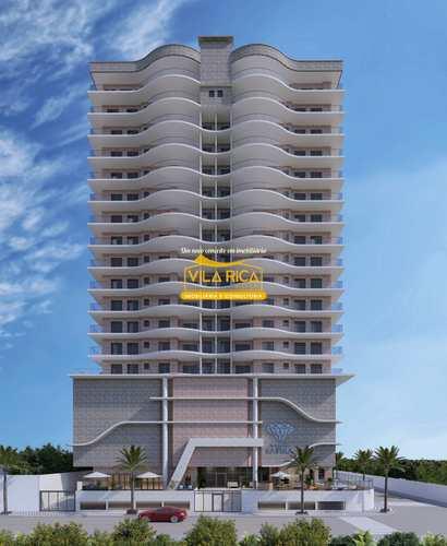 Apartamento, código 377436 em Praia Grande, bairro Guilhermina