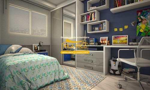 Apartamento, código 377732 em Praia Grande, bairro Guilhermina