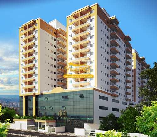 Apartamento, código 377761 em Praia Grande, bairro Boqueirão