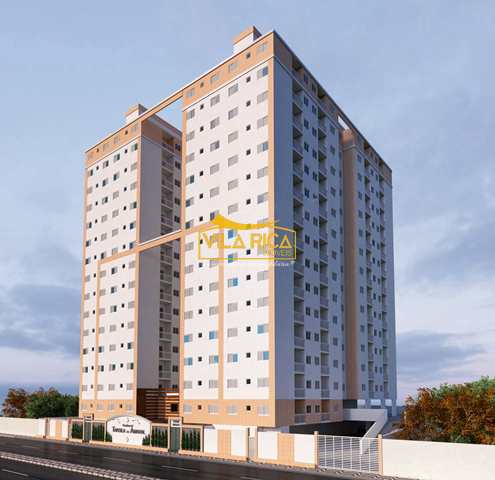 Apartamento, código 377790 em Praia Grande, bairro Aviação